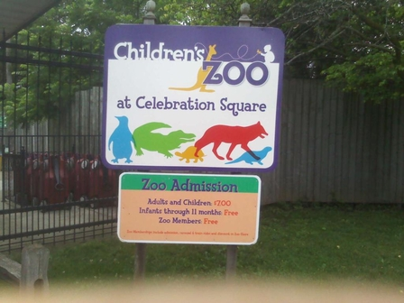 The Children's Zoo at Celebration Square in Saginaw, Michigan - Dee Dee Smith (http://)